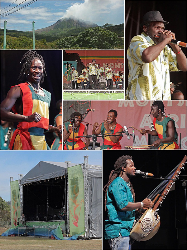 Montserrat hosts the 1st Festival on African Music in the Caribbean
