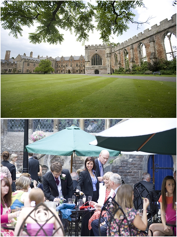 Add musical magic to your wedding at The Bishop's Palace in Wells