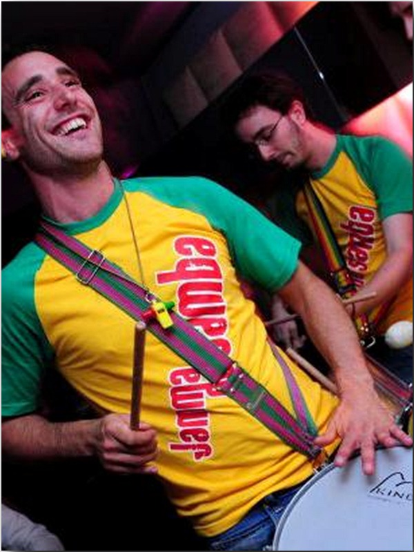 Samba wedding band