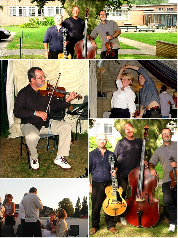 Le Cafe Jazz Swing Jazz Band: Hop Till You Drop Wedding Music Agency